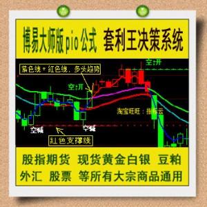博易博弈指标 套利王决策系统 股指期货 黄金白银 大宗商品 股票