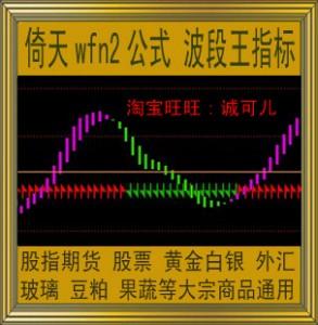 倚天wfn2指标/金牛波段王/商品期货/黄金白银/炒股/螺纹钢/趋势