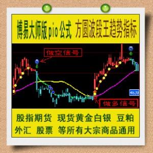 博易大师公式 方圆旗舰波段王趋势指标 股指期货黄金白银外汇渤海