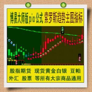 博易大师公式 索罗斯趋势主图指标 股指期货黄金外汇渤海商品股票