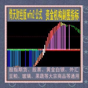 倚天wfn2指标/伟尔资金机构公式/黄金白银/股指期货/股票/商品