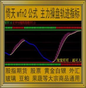 倚天wfn2指标/主力操盘轨迹公式/股指期货/黄金白银外汇/智胜金牛