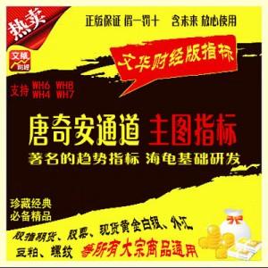 文华公式 唐奇安通道指标 现货黄金白银 股指期货 大宗商品 原油